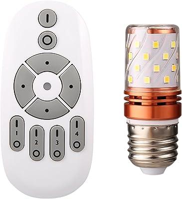 Tengis LEDライト 照明 10段階調光調色 無線式リモコン対応 E26 6W