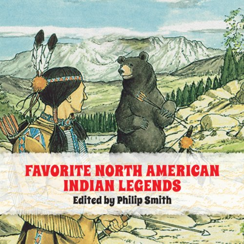 Favorite North American Indian Legends  audiobook cover art