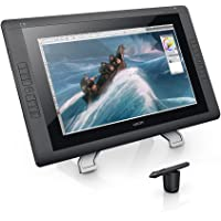 Wacom Cintiq 22HD Interactive Pen Display Tablet for Professionals (Black) - Certified Refurbished + 2 Yr Warranty