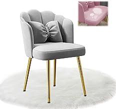 Krzesło do jadalni Krzesło do kuchni Krzesło tapicerowane Krzesło do salonu Fotel Stelaż metalowy Z regulowanymi nóżkami a...