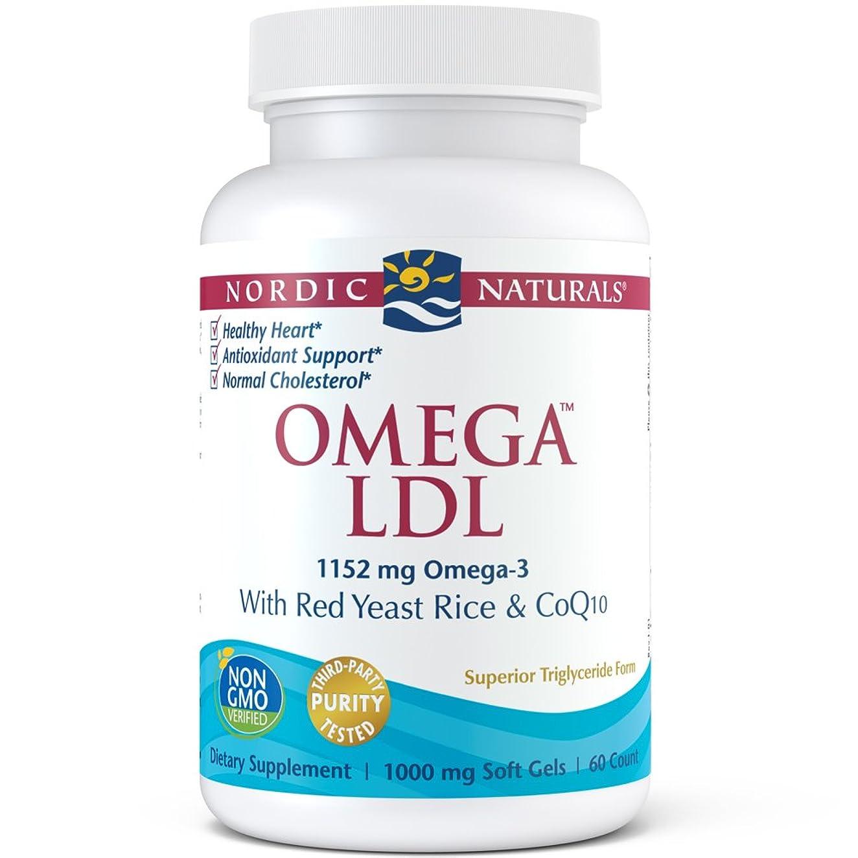 タイトル酸化するかかわらずNordic Naturals オメガ LDL 60 カウント