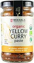 MEKHALA Organic Yellow Curry Paste, 3.53 OZ