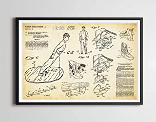 Michael Jackson SMOOTH CRIMINAL Lean Patent Art Poster! (up to 24