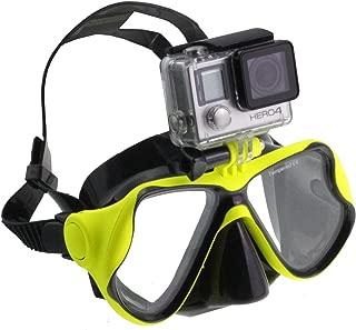 Navitech Kit Combo Sac /à Dos et Accessoires 8 en 1 pour cam/éra daction avec Sangle pectorale int/égr/ée Compatible avec GoPro Hero 7 Silver Waterproof Digital Action Camera