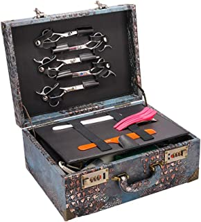Poids: 6.5kg Anaelle Pandamoto/Mallette Maquillage Trolley 4-in-1 en Aluminium Beauty Case au Milieu Stockage avec Verrous et Cl/és Taille: 34*24*71cm Argent