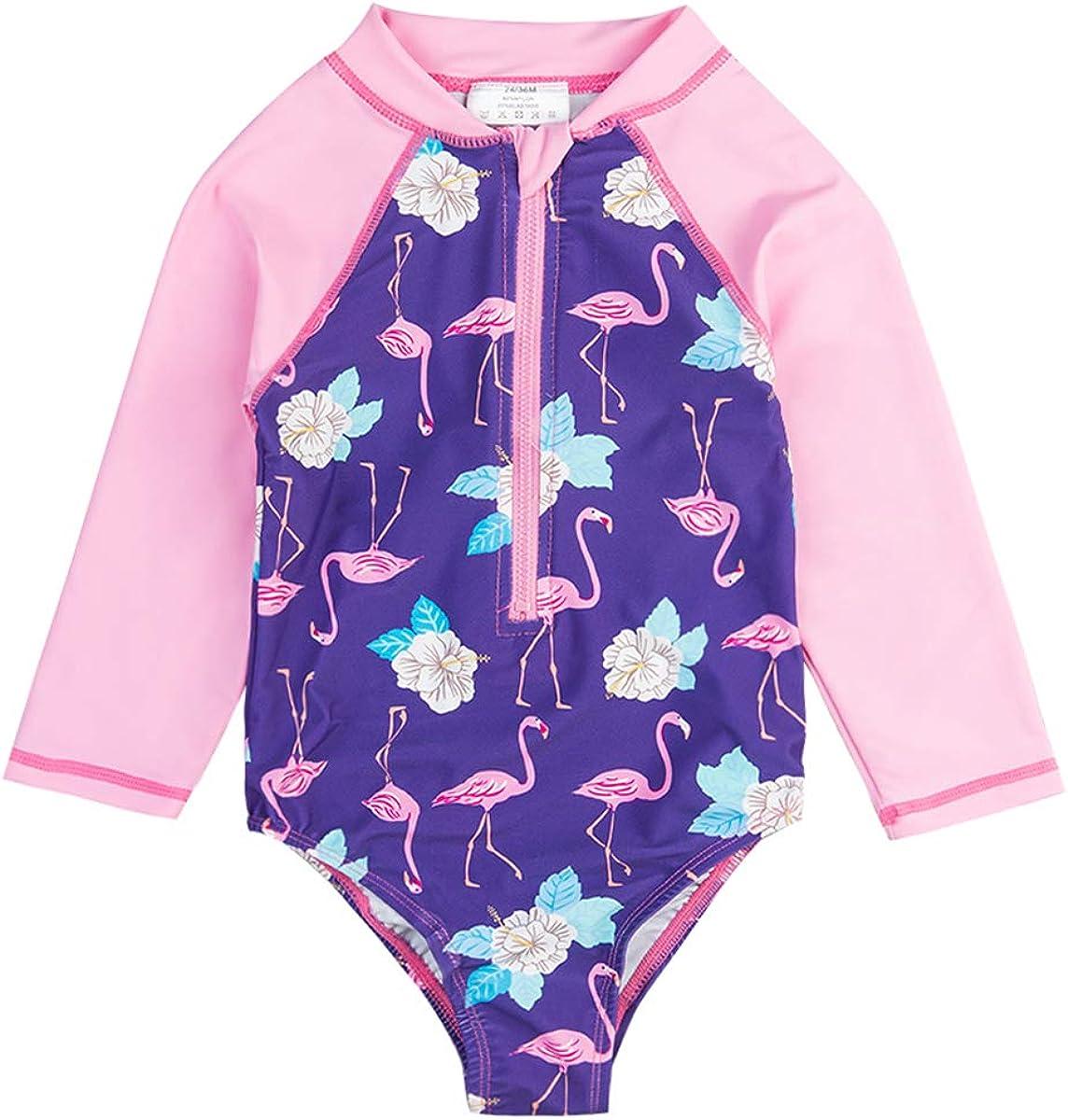 Wishere Baby Girl Sunsuit One-Piece Guard Low price Rash Swimwear store Swimsuit