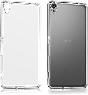 REY Funda Carcasa Gel Transparente para Sony Xperia XA, Muy Fina 0,33mm, Silicona TPU de Alta Resistencia y Flexibilidad