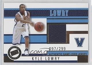 Kyle Lowry #97/299 (Basketball Card) 2006 Press Pass - Jerseys - Gold #JC/KL