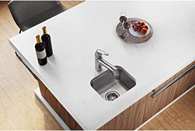 Elkay DXUH1210 Dayton Single Bowl Undermount Stainless Steel Bar Sink