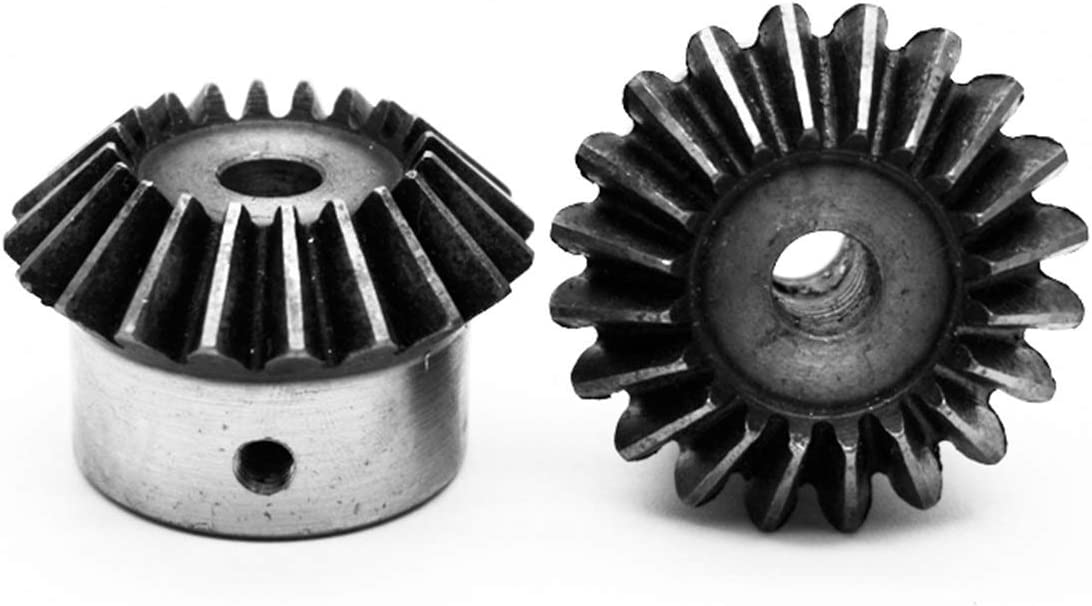 TONGCHAO sale Tchaogr 2pcs 6mm 1:1 Bevel Direct stock discount w Gears 0.5 Teeth Modulus 40