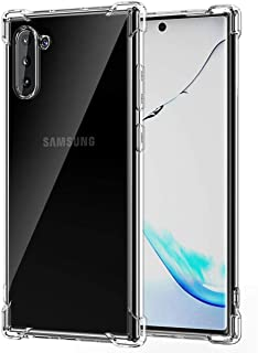 Galaxy Note 10 Case, Crystal Clear Slim Protective Cover with Reinforced Corner Bumpers, Flexible Soft TPU for Samsung Gal...