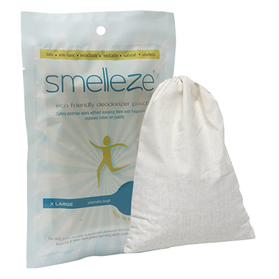 SMELLEZE Reusable Laundry Smell Removal Deodorizer Pouch: Removes Clothes Stench Without Scents