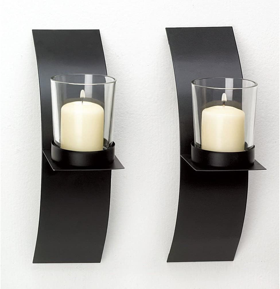 unbrand New Modern Art Candle Holder T Set 2021 new High quality Wall of Plaque Sconce