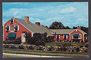 Home of Putnam Pantry Candies Danvers MA postcard 1950s