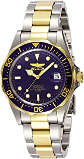 Invicta Pro Diver Men's Blue Dial Stainless Steel Band Watch - INVICTA-8935