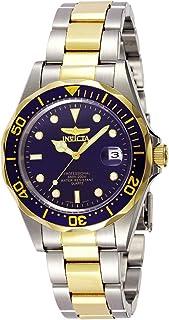 ساعة انفيكتا برو دايفر للرجال مينا، بقرص ازرق اللون وسوار من ستانلس ستيل - INVICTA-8935