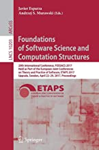 Foundations of Software Science and Computation Structures (Lecture Notes in Computer Science)