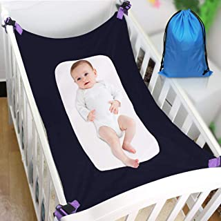 Mimics Womb Double-Layer Breathable Supportive Mesh Bed Baby Hammock for Crib