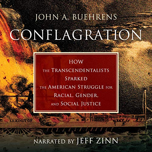 Conflagration audiobook cover art