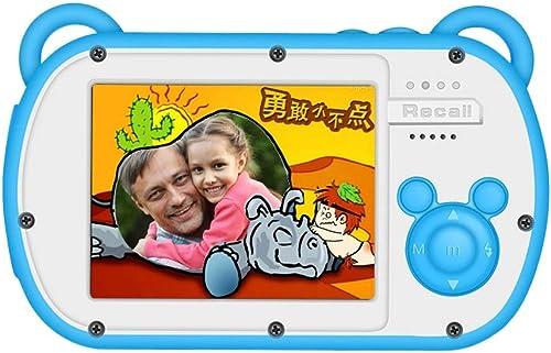 Pinjeer wasserdichte Kinderkamera Geschenke Nette Tragbare 2 Zoll 15MP HD Cartoon Anti-Shake Mini Videoaufzeichnung Digitale Kinderkamera Junge mädchen P gogisches Spielzeug Geschenk (Größe   32G)