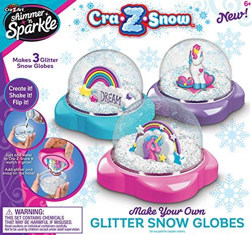 Shimmer & Sparkle CRA-Z Snow Glitter Snow Globes