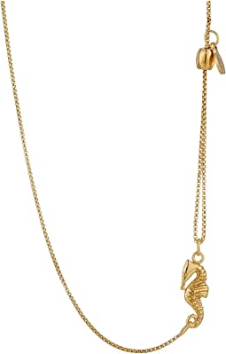 Pull Chain Necklace Seahorse