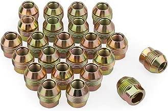 dynofit 14mmx1.5 OEM/Stock/Factory Lug Nuts for Avalanche C1500 K1500/2500,Silverado/Suburban/Express 1500, Tahoe Traverse, M14x1.5 Wheel Lugnuts for Acadia Savana/Sierra 1500 Yukon Escalade SRX