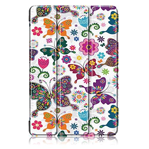 Acelive für Huawei T5 10 Hülle, PU Leder Flip Schutzhülle Cover Case Tasche mit Ständerfunktion für Huawei MediaPad T5 10 10.1 Zoll 2018