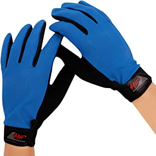 Women Men Full Finger Touch Screen Cycling Gloves Breathable Mesh Quick Dry Non-Slip Motorcycle Road Mountain Bike Riding ...
