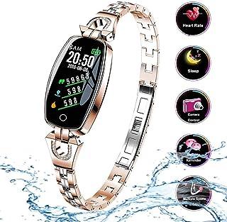 Zeerkeer Smartwatch,Pulsera Actividad Inteligente con Monitor de sueño Impermeable IP67 Podómetro,Calendario,Mujer Pulsera Actividad para Android y iOS