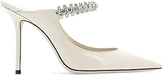 JIMMY CHOO Luxury Fashion Womens BING100PATLINEN Beige Heels | Fall Winter 19