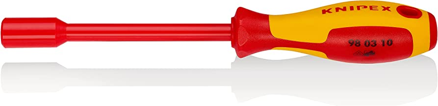 Knipex 98 03 10 Nut Driver With Screwdriver Handle, 237 mm