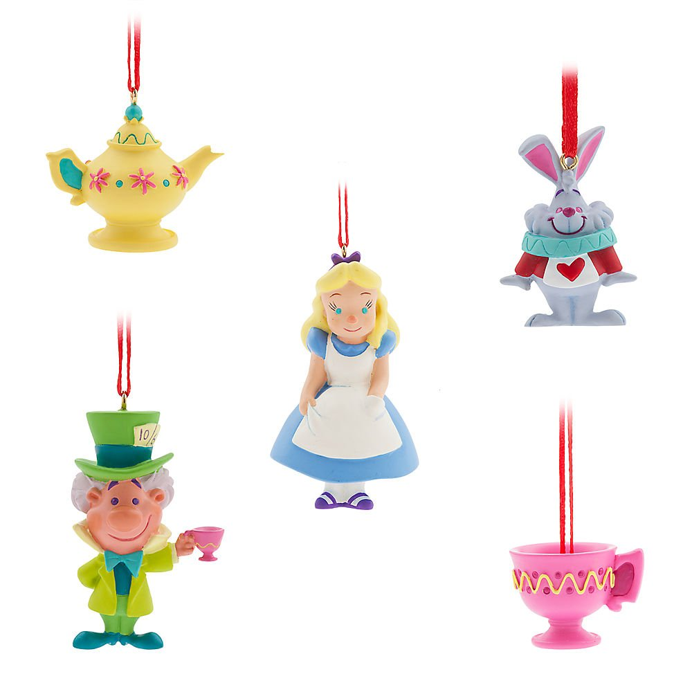 Disney Store Tiny Alice In Wonderland Drink Me Bottle Sketchbook Ornament Figurine