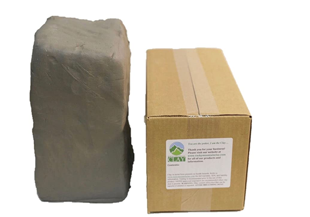 Pottery Clay - 5 lb of Low Fire Cone 06 White Clay - Rocky Mountain Clay CT3
