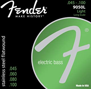 Best Fender 9050 Stainless Flatwound Bass Strings Review