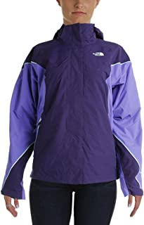 The North Face Womens Hooded 2-In-1 Coat Purple M