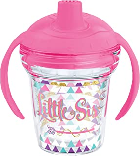 Tervis 1248220 Little Sis Sippy Cup, 6 oz, Clear
