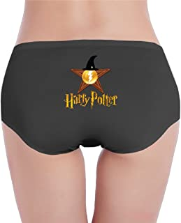 EVALY Women's Fashion Low-Waist Famous Movie Poster Hipsters Panties