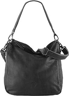 Sattlers & Co. Kurzgriff Tasche Escorial | schicke Henkeltasche für Damen | Damenhandtasche aus echtem Leder | mit längenv...