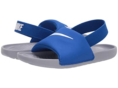Nike Kids Kawa Slide (Infant/Toddler) (Hyper Cobalt/White/Wolf Grey) Boys Shoes