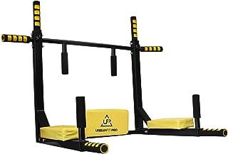 UrbanFit Pro Gym Barra para Dominadas Color 8 En 1 Uso Rudo Fondos Espalda Uso domestico