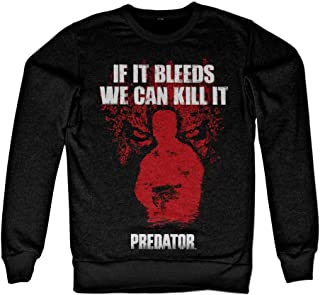 Officially Licensed Predator - If It Bleeds Sweatshirt (Black)