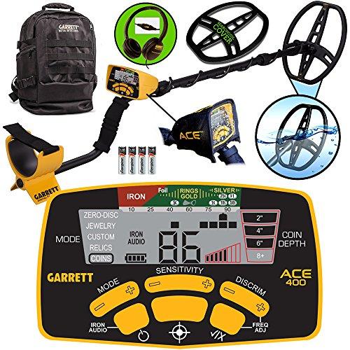 Garrett Ace 400 Spring Special with Garrett Daypack Outdoor Power Tools