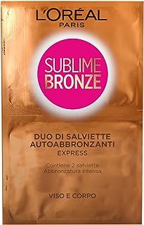 30 x Sublime Bronze Duo salviette autoabbronzanti Express (viso & corpo)