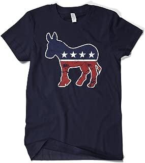 Men's Faded Democrat Donkey T-Shirt