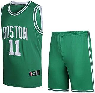 hot sales 63216 9f887 DQZA Maillot De Basketball pour Hommes Kyrie Irving   11 Maillot De  Basketball Masculin NBA Boston