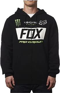 Fox Racing Mens Monster Paddock Hoody Zip Sweatshirt