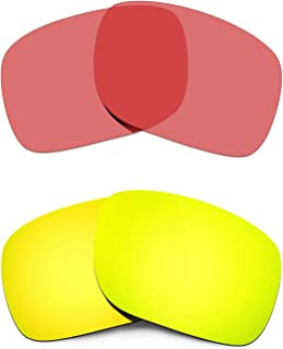 Replacement Lenses For Oakley Holbrook Gold/Transparent Pink Polarized