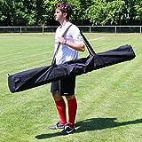 Superspieler24 Tragetasche für alle Stangen bis 180 cm Länge, schwarz