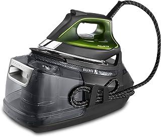 Rowenta DG9248 Silence Pro - Centro de planchado, autonomía ilimitada, 8 bares, golpe vapor 625 g/min, suela Microsteam, f...